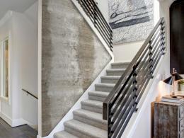 Murando DeLuxe Betonová cesta Klasické tapety  49x1000 cm - samolepicí