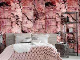 Murando DeLuxe Rùžový mramor Klasické tapety  49x1000 cm - samolepicí