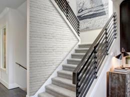 Murando DeLuxe Bílá cihla Klasické tapety  49x1000 cm - samolepicí
