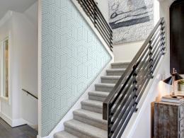 Murando DeLuxe Geometrický labyrint Klasické tapety  49x1000 cm - samolepicí