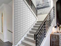 Murando DeLuxe Rozvlnìné panely Klasické tapety  49x1000 cm - samolepicí