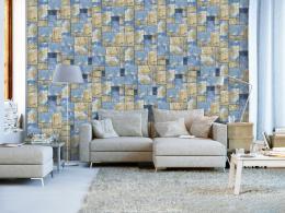 Murando DeLuxe Øecká mozaika Klasické tapety  49x1000 cm - samolepicí