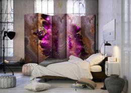Murando DeLuxe Paraván mramorová galaxie Velikost  225x172 cm