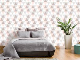 Murando DeLuxe Trojúhelníkové pozadí Klasické tapety  49x1000 cm - samolepicí