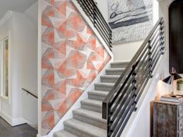 Murando DeLuxe Geometrie jara Klasické tapety  49x1000 cm - samolepicí