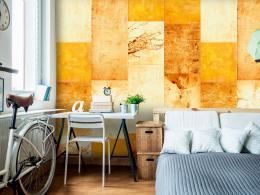 Murando DeLuxe Žlutooranžový obklad Klasické tapety  49x1000 cm - samolepicí