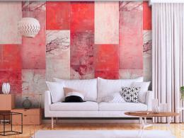 Murando DeLuxe Èerveno šedý obklad Klasické tapety  49x1000 cm - samolepicí