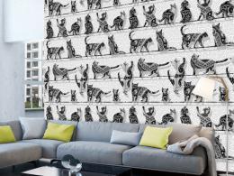 Murando DeLuxe Koèièí den Klasické tapety  49x1000 cm - samolepicí