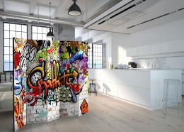 Murando DeLuxe Paraván barevné graffiti