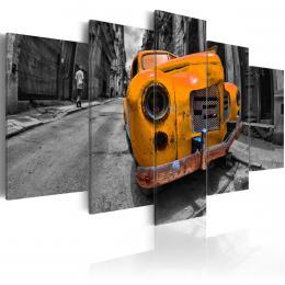 Murando DeLuxe Žlutý vrak Velikost  100x50 cm