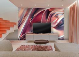 InSmile ® Tapeta abstrakce v podzimních barvách Vel. (šíøka x výška)  144 x 105 cm - zvìtšit obrázek