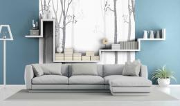 InSmile ® Tapeta zimní les Vel. (šíøka x výška)  144 x 105 cm - zvìtšit obrázek