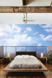 InSmile ® 3D tapeta výhled na mraky Vel. (šíøka x výška)  144 x 105 cm