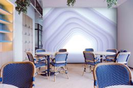 InSmile ® 3D tapeta tunel do dálek Vel. (šíøka x výška)  144 x 105 cm