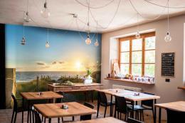 InSmile ® Fototapeta západ slunce pláž Vel. (šíøka x výška)  144 x 105 cm - zvìtšit obrázek