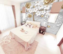 InSmile ® Tapeta strom zlatý Vel. (šíøka x výška)  144 x 105 cm - zvìtšit obrázek