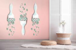 InSmile ® Tapeta v pastelových barvách Vel. (šíøka x výška)  144 x 105 cm