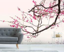 InSmile ® Tapeta sakura ozdobná Vel. (šíøka x výška)  144 x 105 cm - zvìtšit obrázek