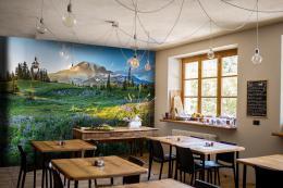 InSmile ® Tapeta Národní park Mount Rainier Vel. (šíøka x výška)  144 x 105 cm - zvìtšit obrázek