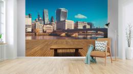 InSmile ® 3D Tapeta výhled na Londýn Vel. (šíøka x výška)  144 x 105 cm - zvìtšit obrázek
