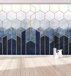 InSmile ® Tapeta hexanové mrakodrapy Vel. (šíøka x výška)  144 x 105 cm - zvìtšit obrázek