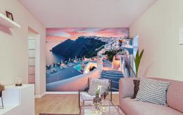 InSmile ® Tapeta Santorini veèer Vel. (šíøka x výška)  144 x 105 cm