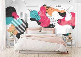 InSmile ® Tapeta moderní abstrakce Vel. (šíøka x výška)  144 x 105 cm