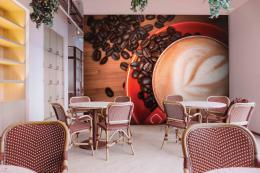 InSmile ® Tapeta hrnek kávy Vel. (šíøka x výška)  144 x 105 cm - zvìtšit obrázek