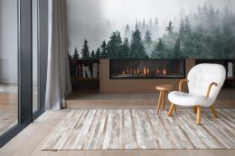InSmile ® Tapeta les v mlze Vel. (šíøka x výška)  144 x 105 cm - zvìtšit obrázek