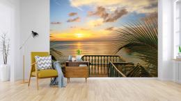 InSmile ® Tapeta Pláž s vyhlídkou Vel. (šíøka x výška)  144 x 105 cm - zvìtšit obrázek