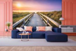 InSmile ® Tapeta cesta k pláži Vel. (šíøka x výška)  144 x 105 cm - zvìtšit obrázek
