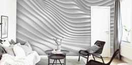 InSmile ® Tapeta 3D vlny Vel. (šíøka x výška)  144 x 105 cm