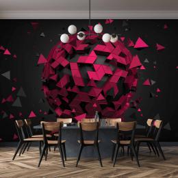 InSmile ® Tapeta Abstrakt 3D koule Vel. (šíøka x výška)  144 x 105 cm