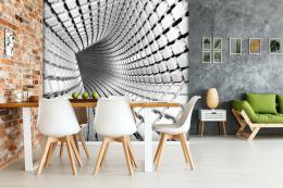 InSmile ® 3D tapeta Abstrakt tunel Vel. (šíøka x výška)  144 x 105 cm