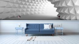 InSmile ® 3D tapeta tunel Vel. (šíøka x výška)  144 x 105 cm