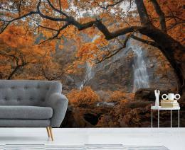 InSmile ® Tapeta Podzimní vodopád Vel. (šíøka x výška)  144 x 105 cm - zvìtšit obrázek