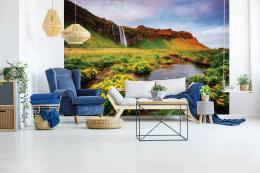 InSmile ® Tapeta Vodopád Seljalandsfoss Vel. (šíøka x výška)  144 x 105 cm - zvìtšit obrázek