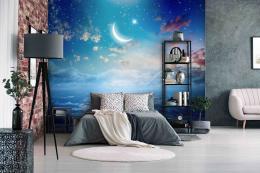 InSmile ® Tapeta noèní obloha Vel. (šíøka x výška)  144 x 105 cm - zvìtšit obrázek