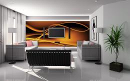 InSmile ® Tapeta Abstrakt vlnìní Vel. (šíøka x výška)  144 x 105 cm - zvìtšit obrázek