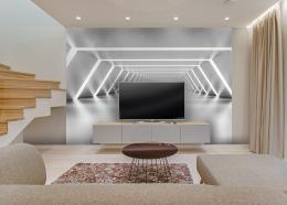 InSmile ® Tapeta 3D tunel Vel. (šíøka x výška)  144 x 105 cm