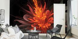 InSmile ® Tapeta ohnivá kvìtina Vel. (šíøka x výška)  144 x 105 cm