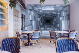 InSmile ® Tapeta mramorový tunel Vel. (šíøka x výška)  144 x 105 cm