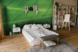 InSmile ® Tapeta Zvlnìné pole Vel. (šíøka x výška)  144 x 105 cm - zvìtšit obrázek