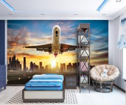 InSmile ® Tapeta Startující letadlo Vel. (šíøka x výška)  144 x 105 cm - zvìtšit obrázek