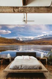 InSmile ® Tapeta jezero a hory Vel. (šíøka x výška)  144 x 105 cm - zvìtšit obrázek