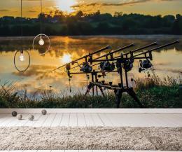 InSmile ® Tapeta Pruty pøi západu slunce Vel. (šíøka x výška)  144 x 105 cm