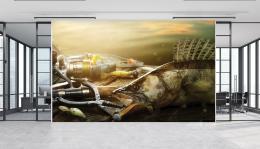 InSmile ® Tapeta Zdolaný candát Vel. (šíøka x výška)  144 x 105 cm - zvìtšit obrázek