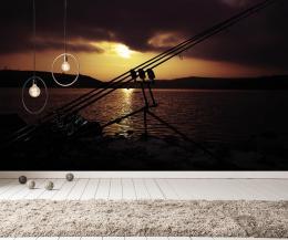 InSmile ® Fototapeta Veèerní rybaøení Vel. (šíøka x výška)  144 x 105 cm