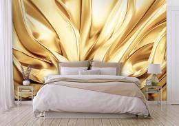 InSmile ® Tapeta Zlaté hedvábí Vel. (šíøka x výška)  144 x 105 cm - zvìtšit obrázek