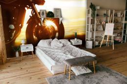 InSmile ® Tapeta Jízda pøi západu slunce Vel. (šíøka x výška)  144 x 105 cm - zvìtšit obrázek